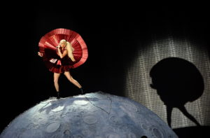 U.S. artist Lady Gaga performs during the 2011 MTV Europe Music Awards (EMA) show held at the Odyssey Arena in Belfast, Northern Ireland, Britain Nov 2011