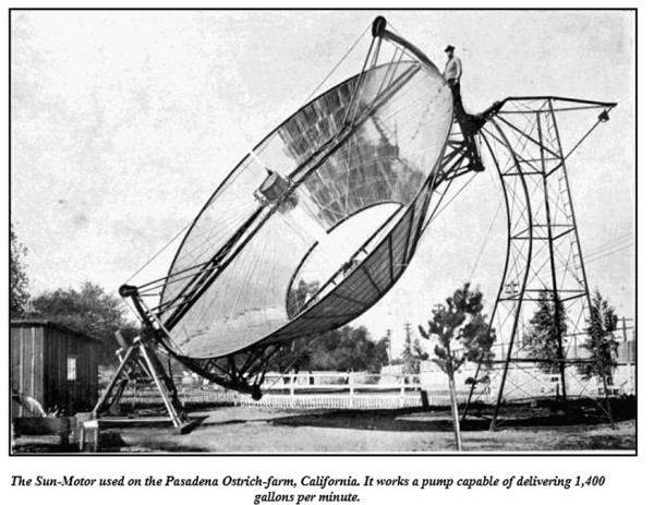 the sun-motor 1910 california